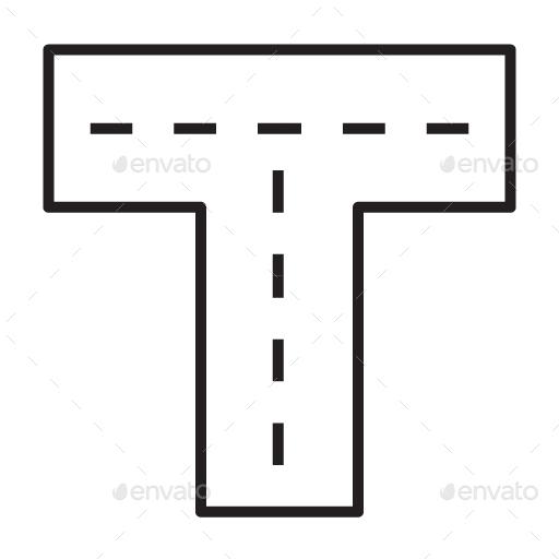 Travel Element Line Icon Set