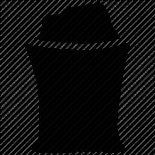 Cement Sack, Construction Material, Sack, Sand Bag, Sand Sack Icon