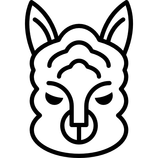 Sheep Face Outline Icons Free Download