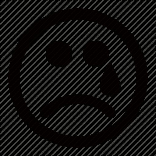 Cry, Emoticons, Sad, Tear, Unhappy Icon