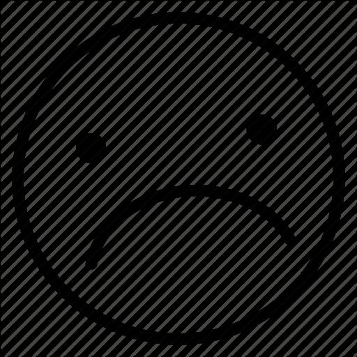 Emoji, Emoticon, Hopeless, Sad Icon