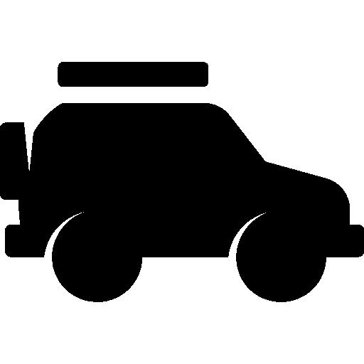 Safari Jeep Icons Free Download