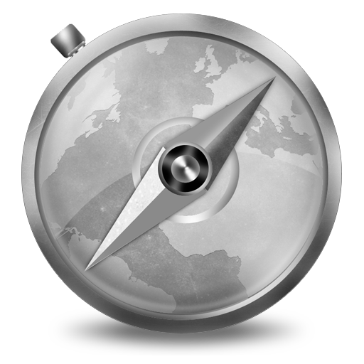 Grey Safari Icon