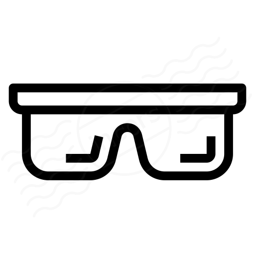 Iconexperience I Collection Safety Glasses Icon