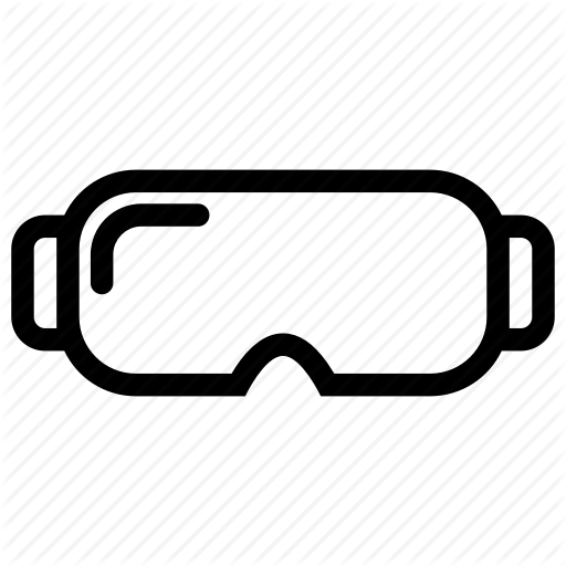 Glasses, Goggles, Protector, Safety, Safety Glasses Icon