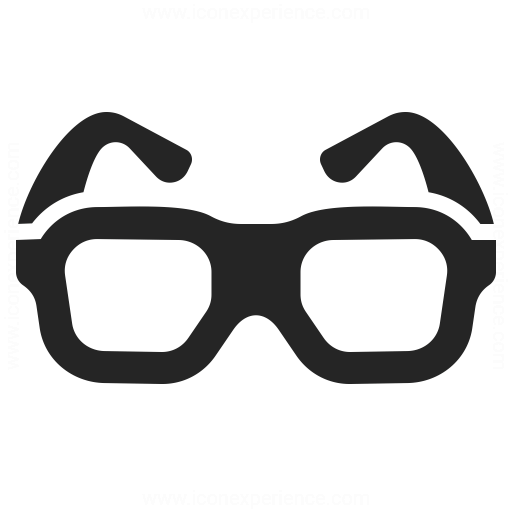 Eyeglasses Icon Iconexperience