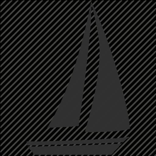 Boat, Sail, Sailboat, Sea, Transport, Travel, Yacht Icon