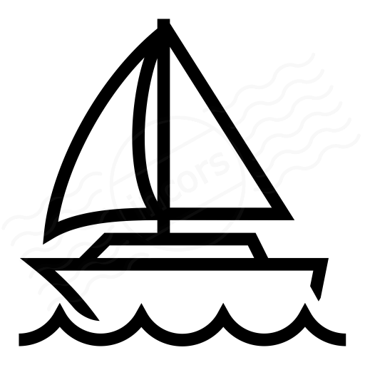 Iconexperience I Collection Sailboat Icon