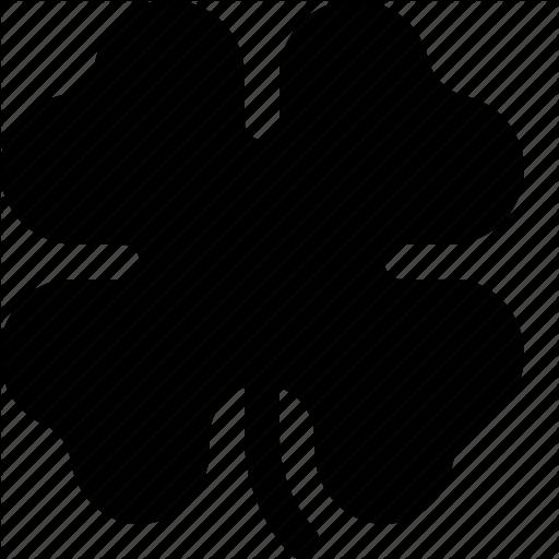 Clover, Four, Leaf, Leaves, Patrick, Shamrock, St Patricks Day Icon