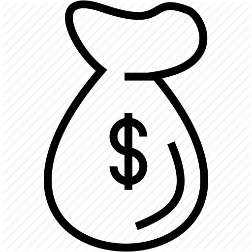 Bag, Cash, Money, Sale Icon