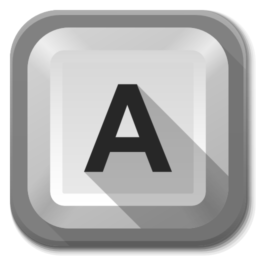 Apps Keyboard Icon Flatwoken Iconset Alecive