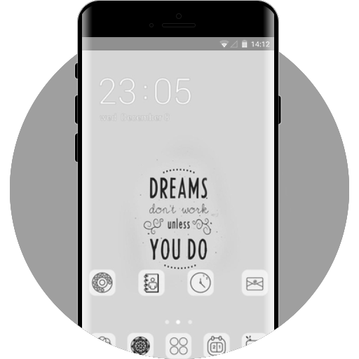 Quote Dreams Free Android Theme U Launcher
