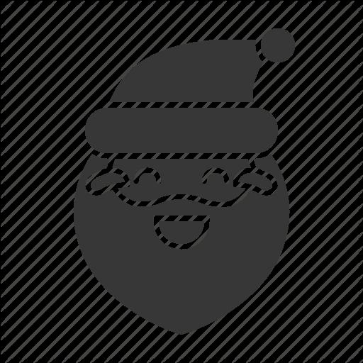 Avartar, Emoji, Laugh, Santa, Santa Claus Icon
