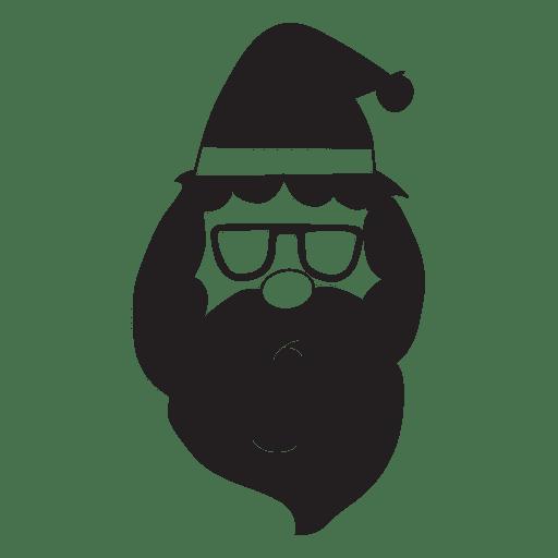 Santa Claus Head Icon