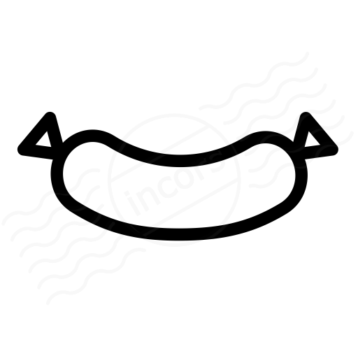 Iconexperience I Collection Sausage Icon