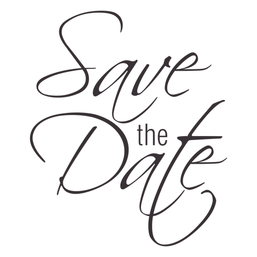 Download Free Png Save The Date Typography Pn Dlpng