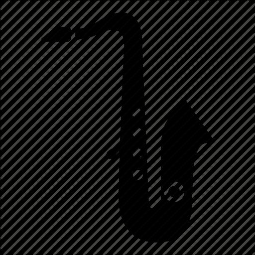 Brass, Instrument, Jazz, Music, Musical, Sax, Saxophone Icon