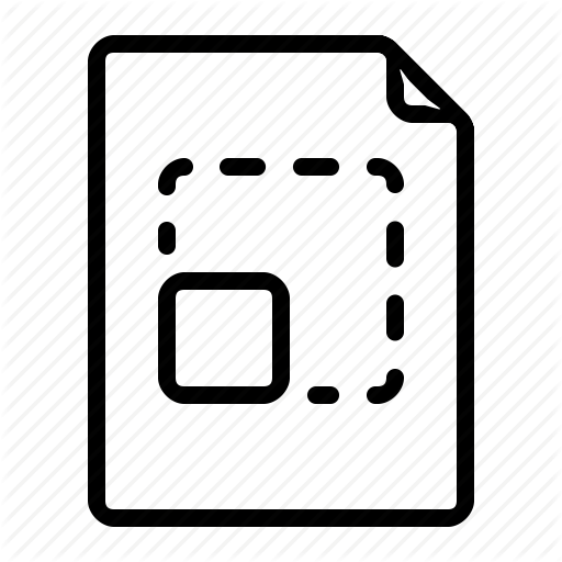 Document, Format, Graphic, Scalable Icon