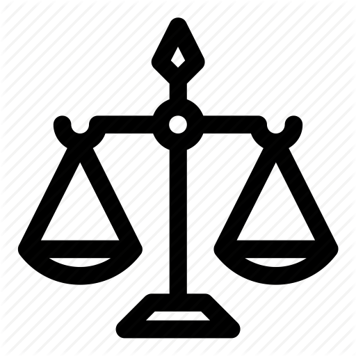 Court, Justice, Law, Scales, Scales Of Justice Icon