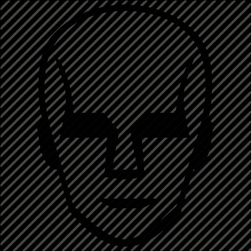 Comics, Face, Head, Robot Icon