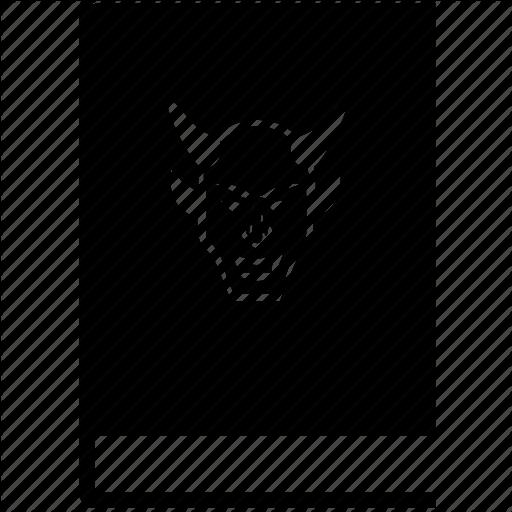 Antichrist, Book, Death, Devil, Evil, Hell, Hero Icon