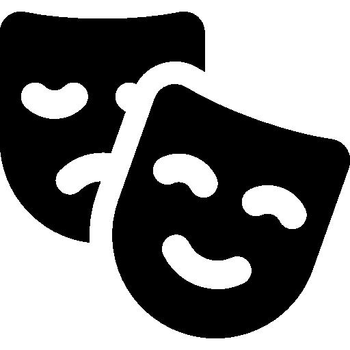Drama Masks Icons Free Download