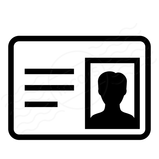 Iconexperience I Collection Id Card Icon