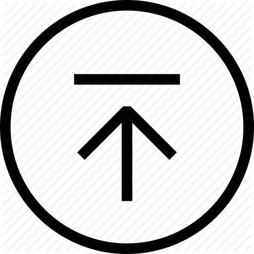 Arrow Up, Back To Top, Circle, Cloud, Scroll To Top, Scroll Up