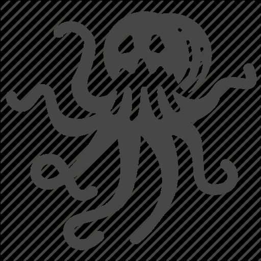 Sea Monster Icon