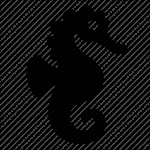 Hippocampus, Seahorse Icon