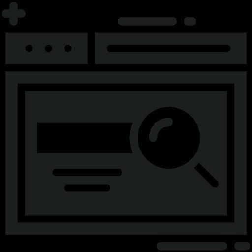 Magnifying, Search, Bar, Web, Screen Icon Free Of Digital Marketing