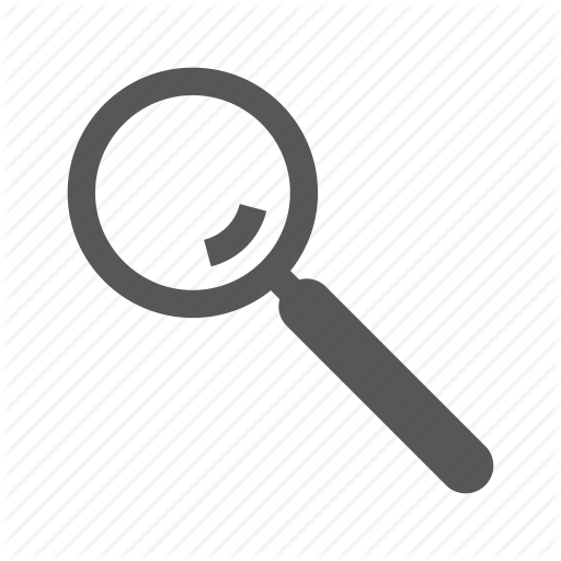 Search Bar Magnifying Glass Icon