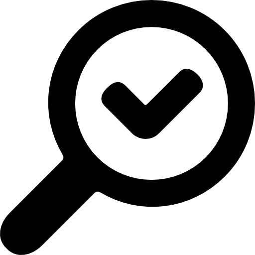 Validate Search Icons Free Download