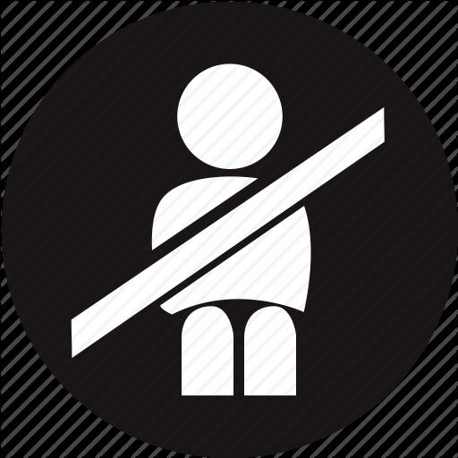 Belt, Light, Seat Belt, Seat Belt Buckles, Seat Belt Not On, Seat