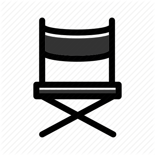 Chair Director Director Chair Filmmaker Movie Producer Seat Icon