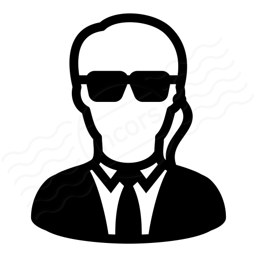 Iconexperience I Collection Security Agent Icon