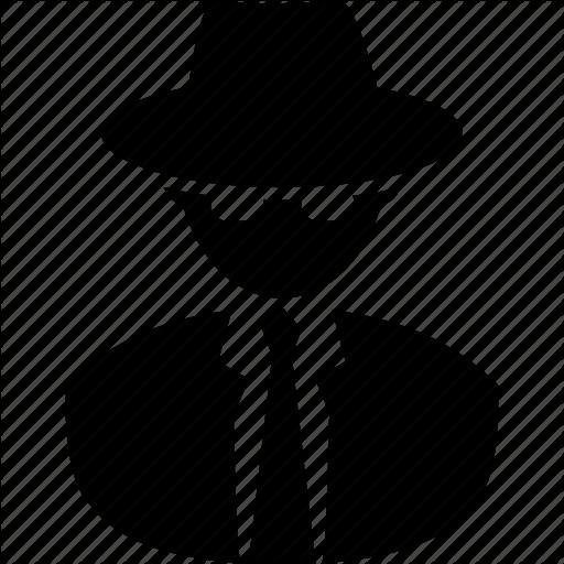 Agent, Cia, Fbi, Nsa, Spy, Stag, Sweeper, Undercover Icon Icon