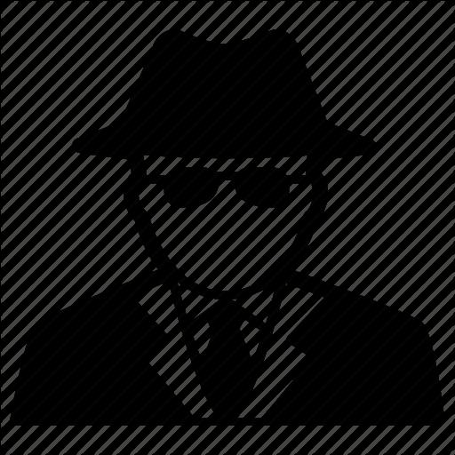 Agent, Detective, Inspector, Man, Secret, Spy Icon