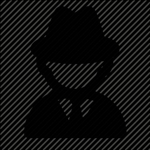 Avatar, Detective, Hacker, Profession, Profile, Secret Agent Icon