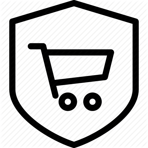 Ecommerce, Online, Secure, Shop, Shopping Icon