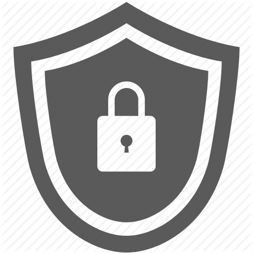 Internet, Lock, Network, Security, Shield Icon