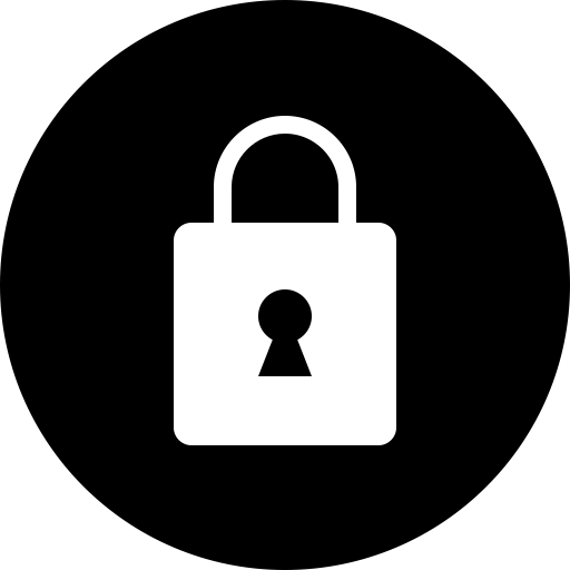 Safe, Circle, Privacy, Lock, Secure, Security Icon