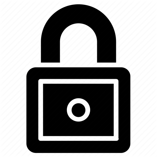 Bolt, Padlock, Protected Lock, Security Hook, Security Lock Icon