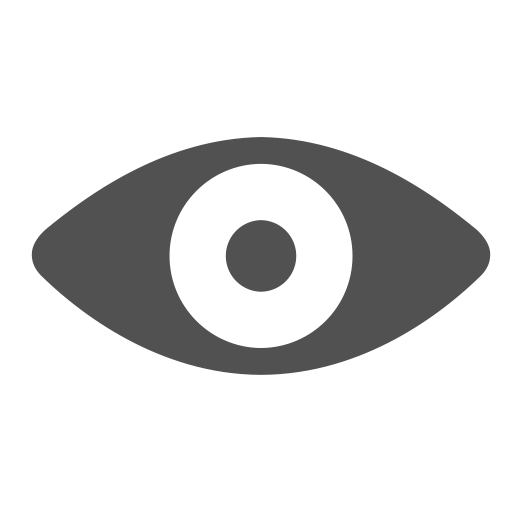 Eye, View, Visible, Watch, See Icon
