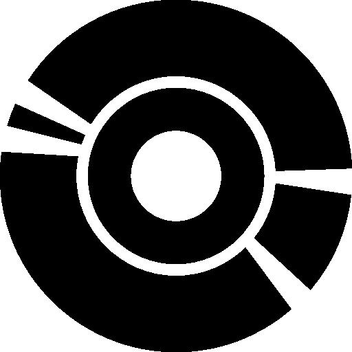 Mini, Graph, Segment, Chart, Segmentation, Pie Icon
