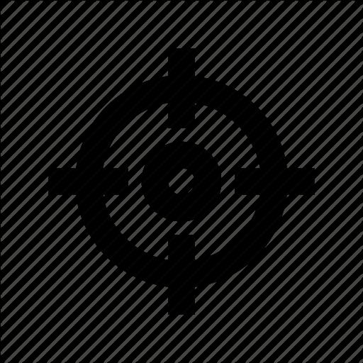 Crosshair, Focus, Focus Button, Focus Selector, Target Icon