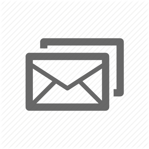 Gray Mail Icon Transparent Png Clipart Free Download