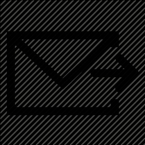 Mail, Send Icon