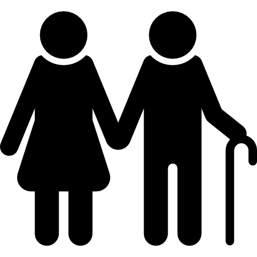 Old Couple Icons Free Download