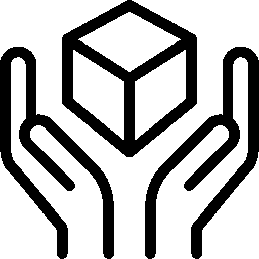 Ecommerce Handle With Care Icon